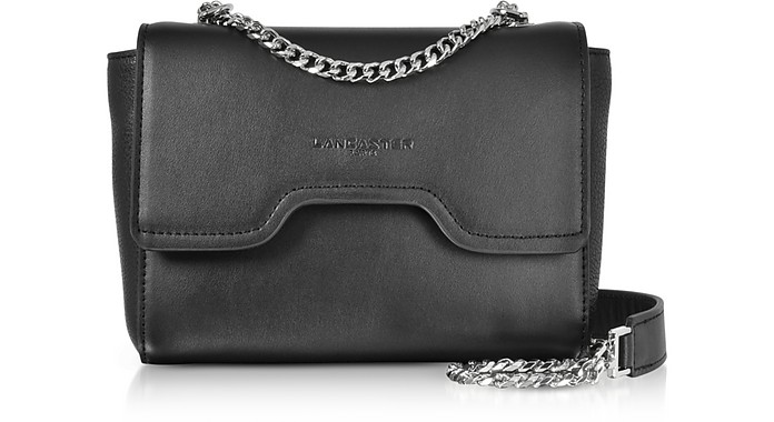 Irene Smooth Leather Shoulder Bag - Lancaster Paris