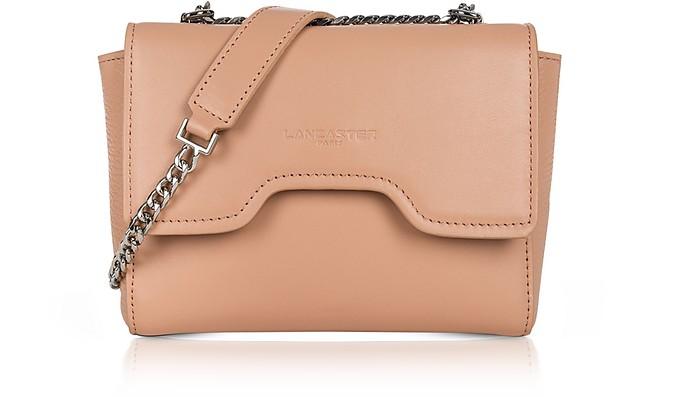 Irene Smooth Leather Shoulder Bag - Lancaster Paris