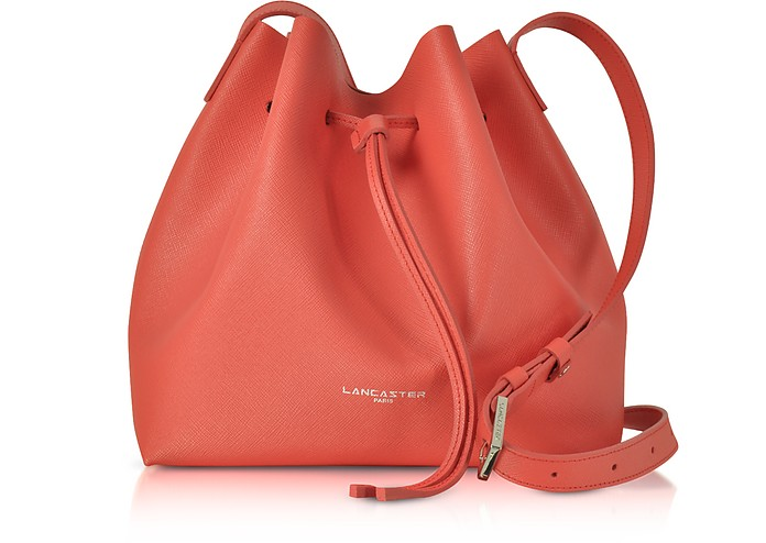 Pur Saffiano Leather Bucket Bag - Lancaster Paris