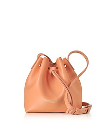 Pur Smooth Leather Mini Bucket Bag - Lancaster Paris