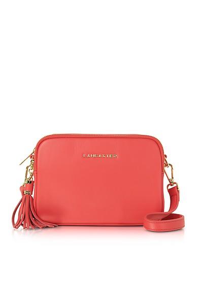 7a7b48e0314dc5 Lancaster Paris watermelon Mademoiselle Ana Leather Crossbody Bag at ...