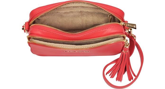 d72b07cf632733 Mademoiselle Ana Leather Crossbody Bag - Lancaster Paris. $263.00 Actual  transaction amount