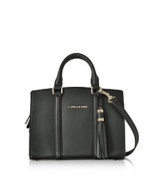 Mademoiselle Ana Leather Mini Satchel Bag - Lancaster Paris