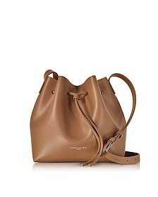 Pur Smooth Leather Bucket Bag - Lancaster Paris