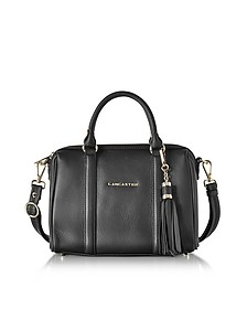 Mademoiselle Ana Grained Leather Small Duffle Bag - Lancaster Paris