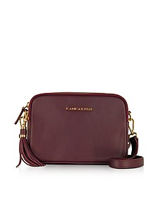 Mademoiselle Ana Grained Leather Crossbody Bag - Lancaster Paris