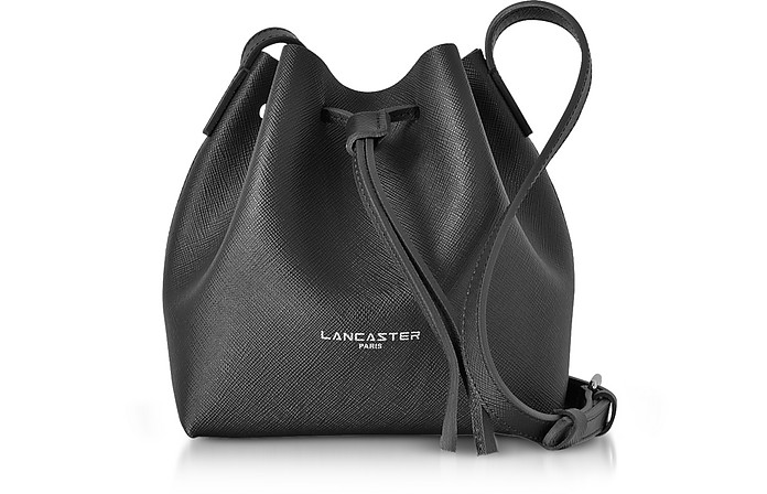 Pur & Element Saffiano Leather Mini Bucket Bag - Lancaster Paris / ランカスター パリ