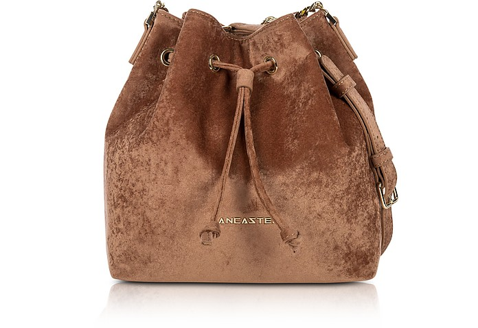 Velvet Small Bucket Bag - Lancaster Paris / ランカスター パリ
