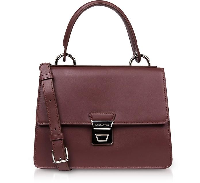 Garance Leather Top Handle Shoulder Bag - Lancaster Paris / ランカスター パリ