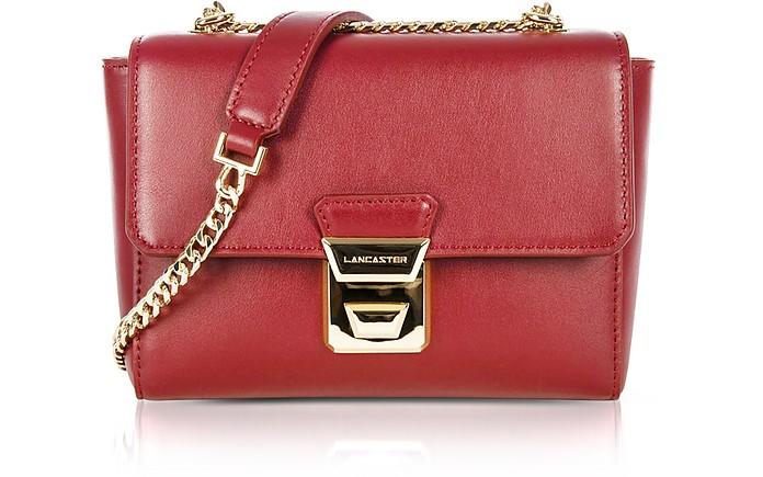 Gena Or Leather Small Crossbody Bag - Lancaster Paris / ランカスター パリ
