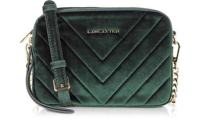 Quilted Velvet Couture Camera Bag - Lancaster Paris