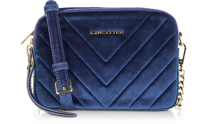 Quilted Velvet Couture Camera Bag - Lancaster Paris
