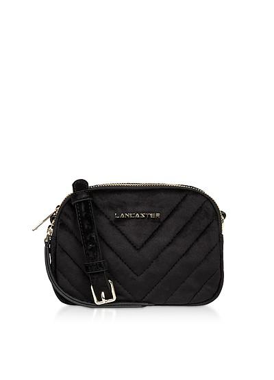 Quilted Velvet Couture Mini Camera/Belt Bag - Lancaster Paris