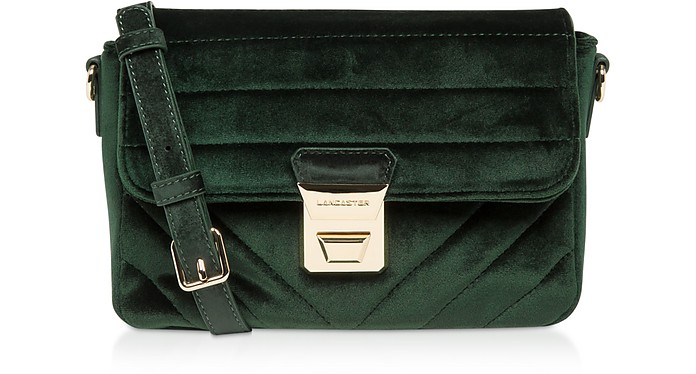 Actual Velvet Couture Flap Crossbody Bag - Lancaster Paris