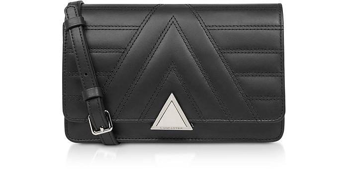 Parisienne Matelassé Quilted Leather Crossbody Bag - Lancaster Paris