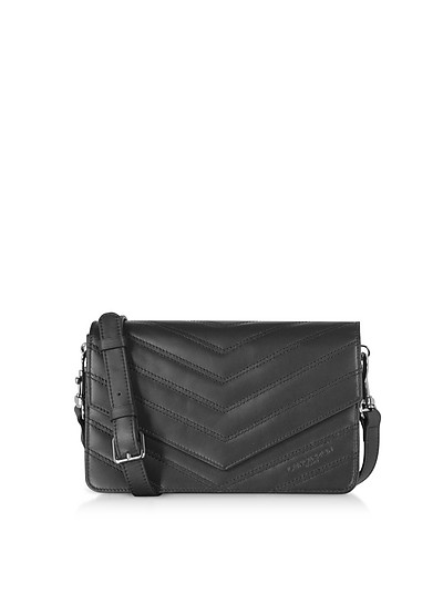 Parisienne Matelasse Leather Shoulder Bag - Lancaster Paris