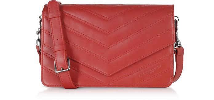 Parisienne Matelasse Leather Shoulder Bag - Lancaster Paris