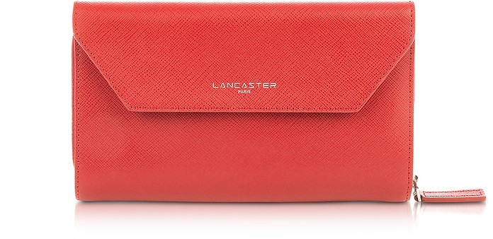 Adele Leather Continental Wallet - Lancaster Paris / ランカスター パリ