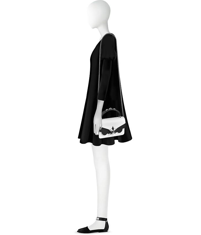 Vega Mini Borsa con Tracolla in Pelle Black&White Les Jeunes Etoiles LEPwyuho