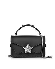 Black Leather Vega Mini Shoulder Bag - Les Jeunes Etoiles
