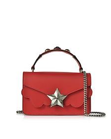 Red Leather Vega Mini Shoulder Bag - Les Jeunes Etoiles