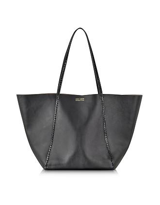 1464f2fe06 Black Ayers and Calf Leather Tote - Linda Farrow