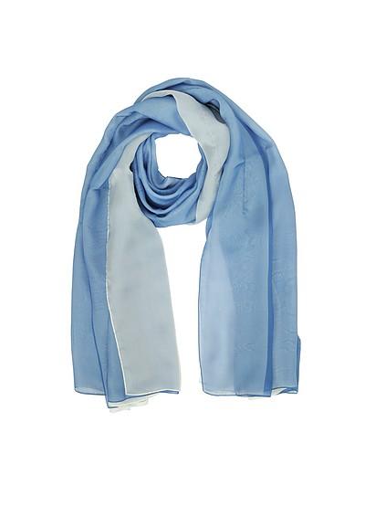 Double Chiffon Silk Stole - Laura Biagiotti