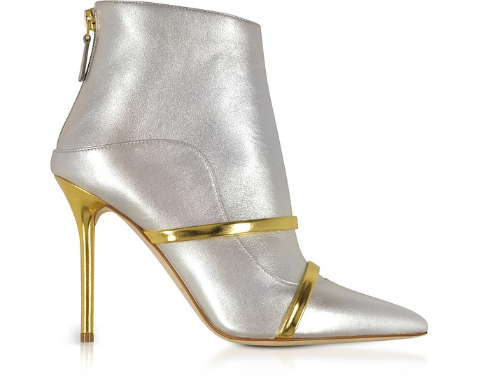 Madison Metallic Nappa Leather Boots - Malone Souliers