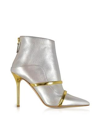 3625743c617 Madison 100 Metallic Nappa Leather Boots - Malone Souliers