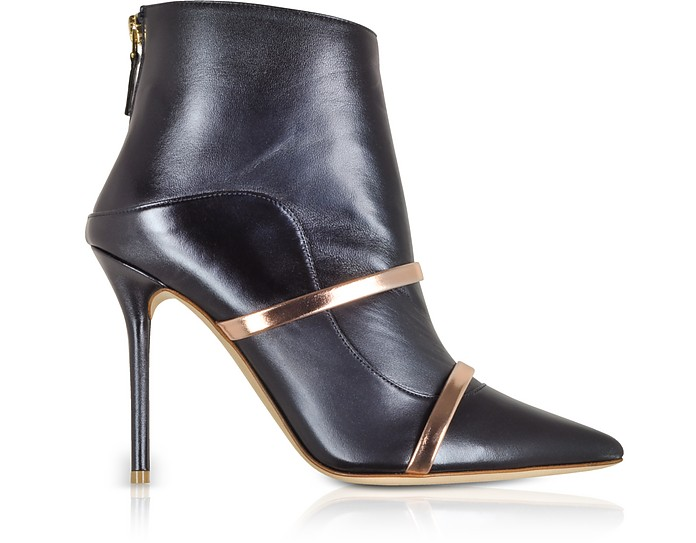 Madison 100 Midnight Blue Nappa Leather Boots - Malone Souliers