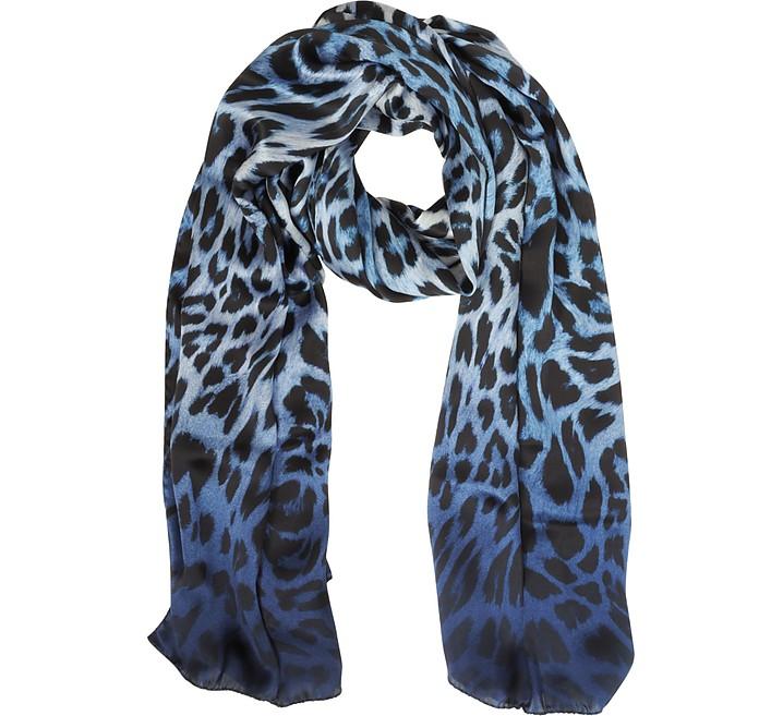 Animalier Twill Silk Stole - Marina D'Este