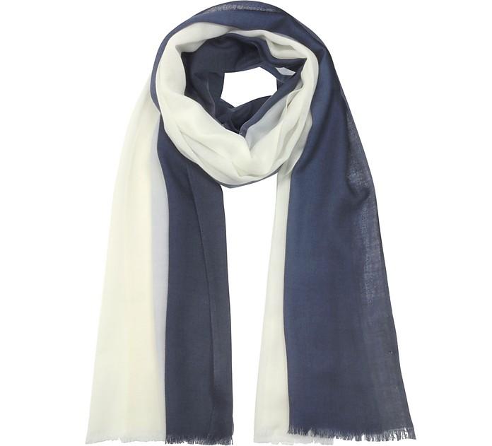 羊毛加羊绒围巾 - Marina D'Este 东海岸