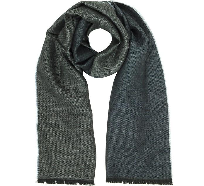 Solid Wool Scarf - Marina D'Este