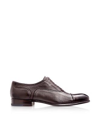 1c5711e600a Nice Dark Brown Deerskin Oxford Shoes - Moreschi