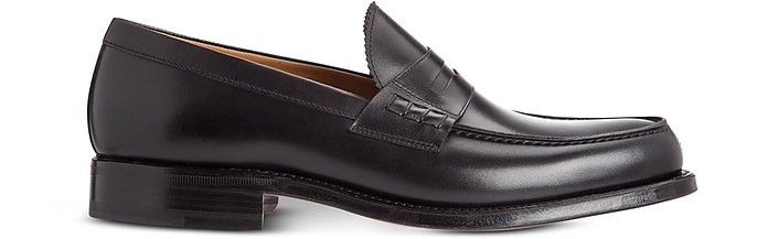 Coventry Soft Calfskin Leather Loafers with Goodyear Sole - Moreschi