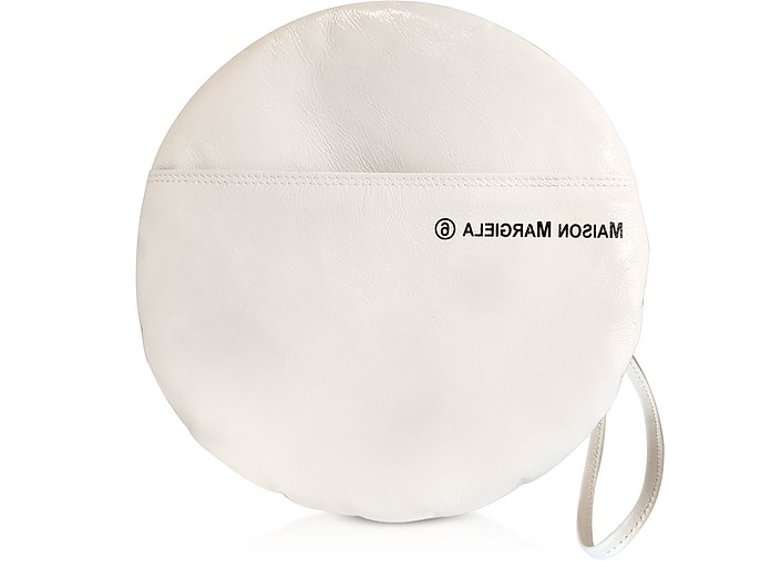 Medium Naplak Round Pochette Clutch - MM6 Maison Martin Margiela