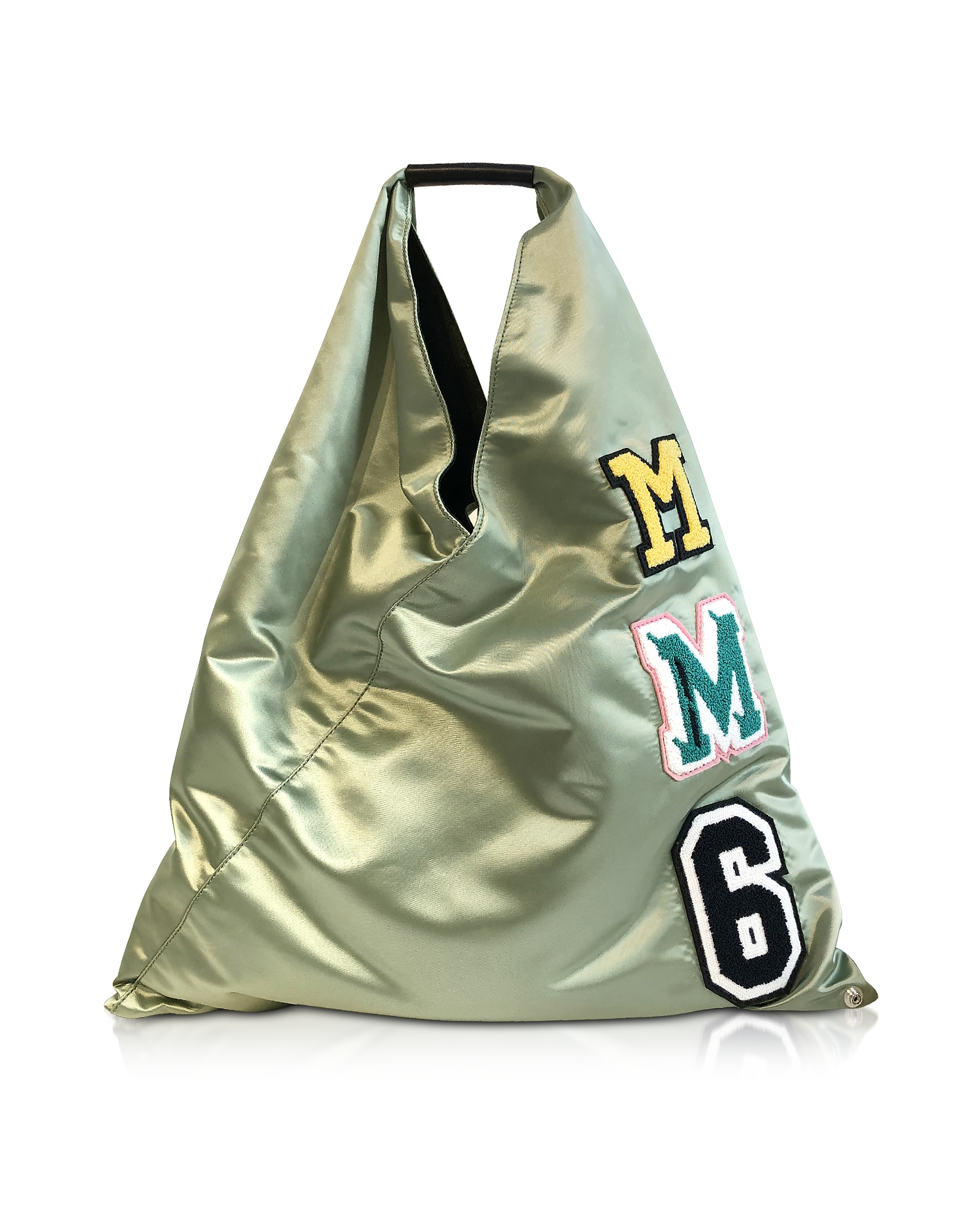 Mm6 Maison Margiela SAGE GREEN NYLON JAPANESE TOTE BAG