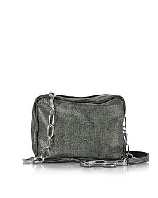 Micro Studded Canvas Shoulder Bag  - MM6 Maison Martin Margiela