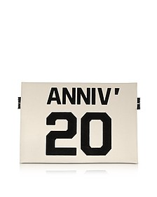 Anniversary 20 Canvas Flat Clutch - MM6 Maison Martin Margiela