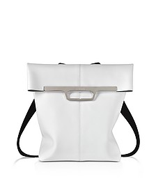 White Foldover Backpack - MM6 Maison Martin Margiela