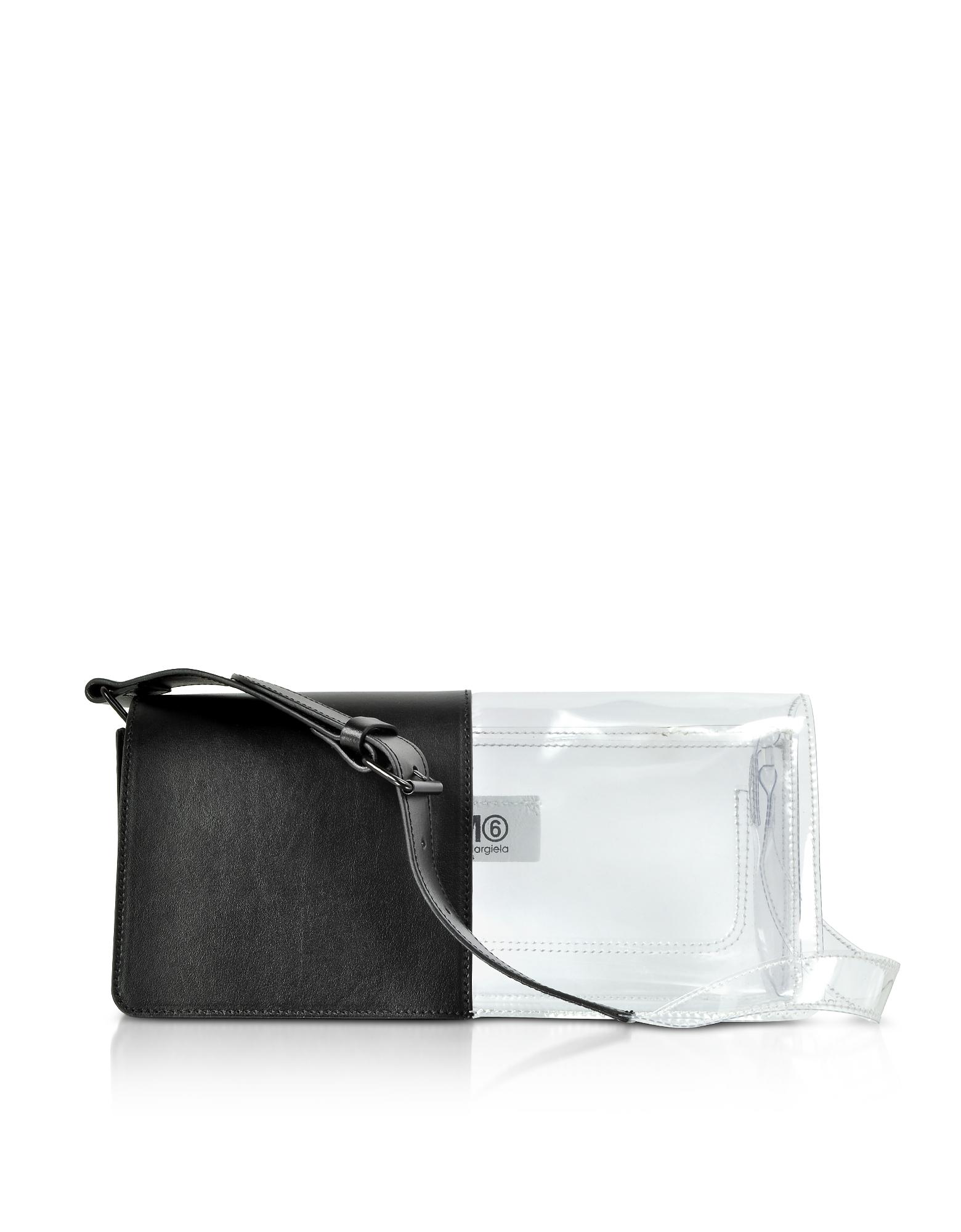 Mm6 Maison Margiela Shoulder HALF-AND-HALF SHOULDER BAG