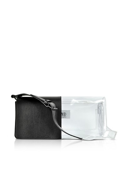 Half-And-Half Shoulder Bag - MM6 Maison Martin Margiela