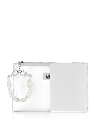 Half-And-Half Pouch - MM6 Maison Martin Margiela