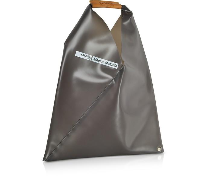 234a15ef0a48 Twitter · Pinterest · Share on Tumblr. Charcoal Gray PVC Japanese Tote Bag  - MM6 Maison Martin Margiela