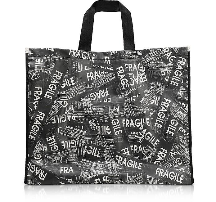 Fragile Printed Tote Bag - MM6 Maison Martin Margiela