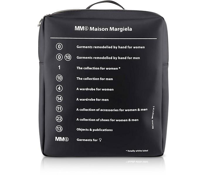 Black Signature Backpack - MM6 Maison Martin Margiela