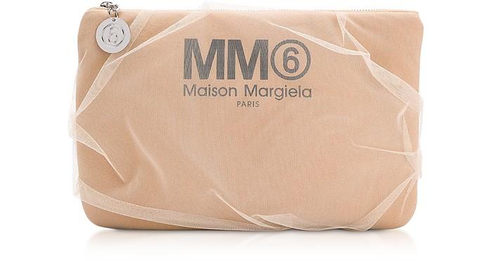Nude Signature Pouch - MM6 Maison Martin Margiela