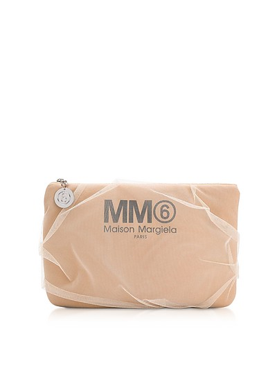 Фирменная Сумочка Телесного Цвета - MM6 Maison Martin Margiela