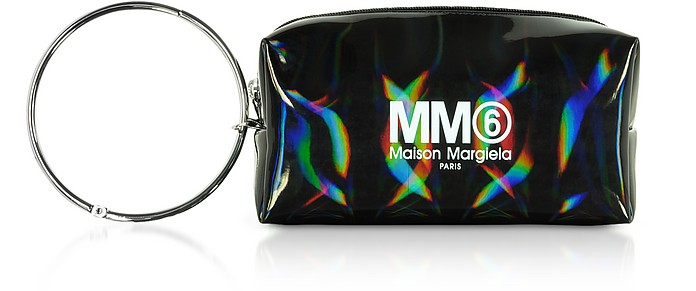 Black Patent Leather Camera Bag - MM6 Maison Martin Margiela