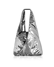 Metallic Japanese Bucket Bag